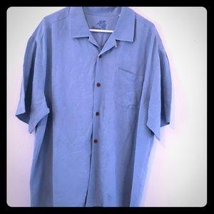 Tommy Bahama Men's 100% Silk Shirt. XL